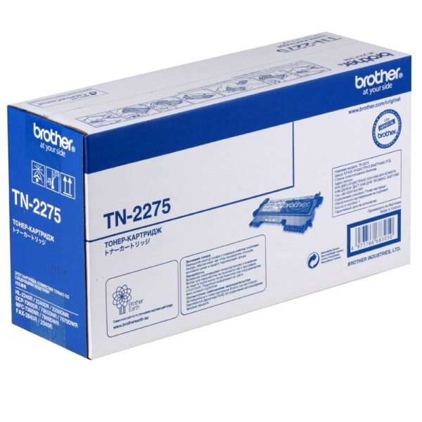 Картридж Brother HL-2240R/2240DR/2250DNR/DCP-7060DR (O) TN-2275, 2,6К
