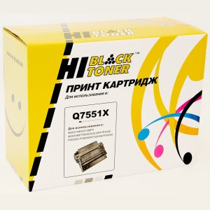 Картридж HP 3005/3027/3035 (Hi-Black) Q7551X, 13K