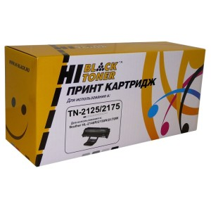 Картридж Brother HL-2140/2150/2170/DCP-7030 (Hi-Black) TN-2125/2175, 2,6K